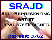 Self-Representing artist jewelry design