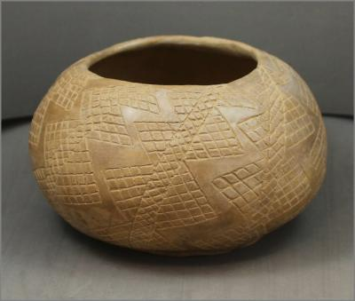Incised Caddo Style Pot